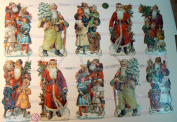 Weinachtsmann, Father Christmas German scrap, die cuts 7313