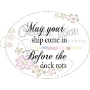 Clear Stamps 5.1cm x 5.1cm -Ship Come In