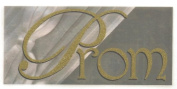 Prom Too Gold Glitter Rub-Ons for Scrapbooking