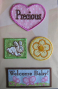 Welcome Baby Fabric Details // American Traditional Designs
