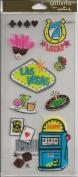 Las Vegas Scrapbook Stickers