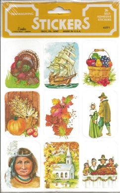 Thanksgiving Scrapbook Stickers (65371)