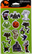 Halloween Embossed Scrapbook Stickers