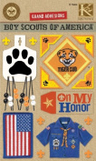 K & Company Boy Scout Tiger Cub Grand Adhesions Stickers