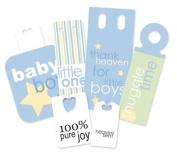 Pebbles IKanDee Market Tags-Baby Blue