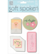 Me & My Big Ideas Soft Spoken 3 Dimensional Embellishments-Delicate Baby Girl