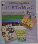 Paper Pizazz Adult Birthday Scrapbooking Paper