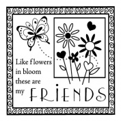 Clear Mini Stamps: My Friends