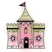 Castle Clear Unmounted Rubber Stamp