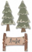 Christmas Paper Bliss Adhesive Embellishments - Tree Lot