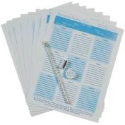 Printable Seat Chart W/Pencil & Eraser-