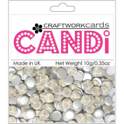 Candi Dot Printed Embellishments .1040ml-Earl Grey