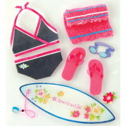 American Girl Crafts Swimming Style Stickers