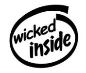 Wicked Inside Vinyl Graphic Sticker Decal