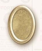 K & Company Lifes Journey Metal Art Frame Ups-Oval Brass