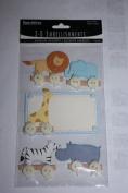 3-D Embellishments Paperbilities Zoo Animals