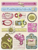 Amy Butler Grand Adhesions Embellishments - Belle Stitched Words