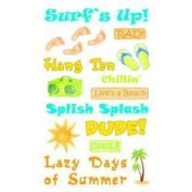 Surf's Up Rub-ons for Scrapbooking