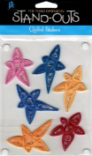 Star Colours Stand-Outs Quilled Scrapbook Stickers