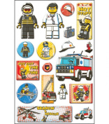 Lego Epoxy Stickers, Emergency