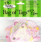 Baby Girl Tags Diecuts for Scrapbooking