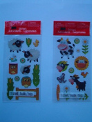 Studio18 Stickers, Pack of 2 Sheets