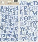 Heidi Grace Designs Alphabet Cardstock Stickers - Woodland