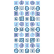 EK Success Sticko Style Dimensional Alphabet Stickers cool cat