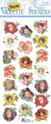 Violette Stickers Flower Petal Ladies