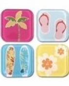 Summer Tile Scrapbook Stickers