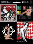 Bettie Page - Assorted - Die Cut Vinyl Sticker Decal