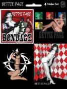 Bettie Page - Assorted - Die Cut Vinyl Sticker Decal