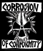 Corrosion of Conformity - Skull - Die Cut Vinyl Sticker Decal