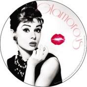 Audrey Hepburn - Kiss - Die Cut Vinyl Sticker Decal