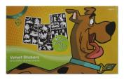 Scooby-Doo 40 Count Velvet Sticker Book 9.5 x 5.75