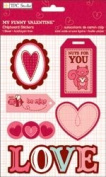 My Funny Valentine Chipboard Stickers // TPC Studio