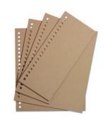 EK Success Rebecca Sower Bookworks Assorted Mat Boards-Khaki