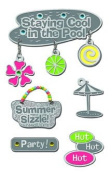 American Traditional Design Lil' Charms-Summer Sizzle Cabana