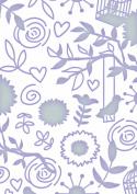 Fine Designs - Oooh La La 5x7 - Embossing Folder