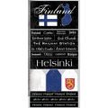 Finland Scratchy Scrapbook Stickers