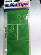Stuffed Ups Adhesive Envelopes Green