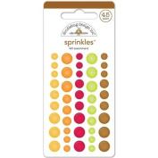 Happy Harvest Sprinkles Glossy Enamel Stickers 45/Pkg-Fall