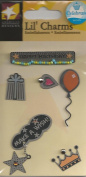 Birthday Celebrate Metal Charms for Scrapbooking