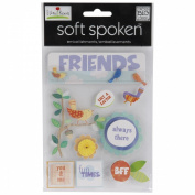 Soft Spoken Themed Embellishments-Bird Friends