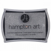 Hampton Art Pigment Ink Pad-Silver