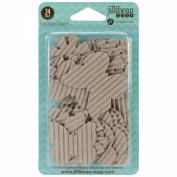 Corrugated Shapes 24/Pkg-Sunshine