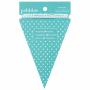 Basics Banner Kit-Triangle Aqua