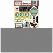 Echo Park Times & Seasons 2 6x13 Chipboard Stickers
