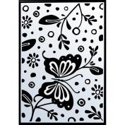 Ecstasy Crafts Embossing Folder - Spring