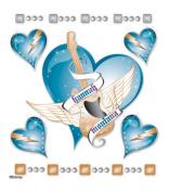Jolee's Disney(R) Hannah Montana Dimensional Stickers - Blue Heart